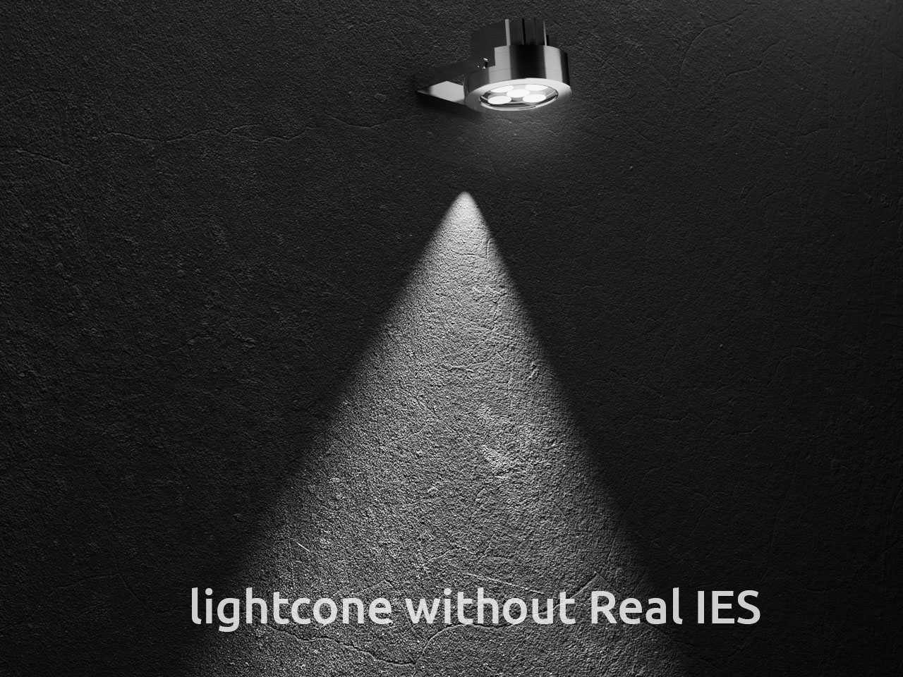 3d light without Real IES