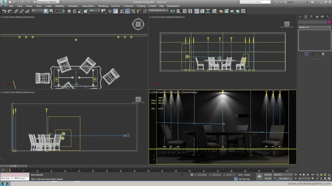 photometric ies lights in 3ds max