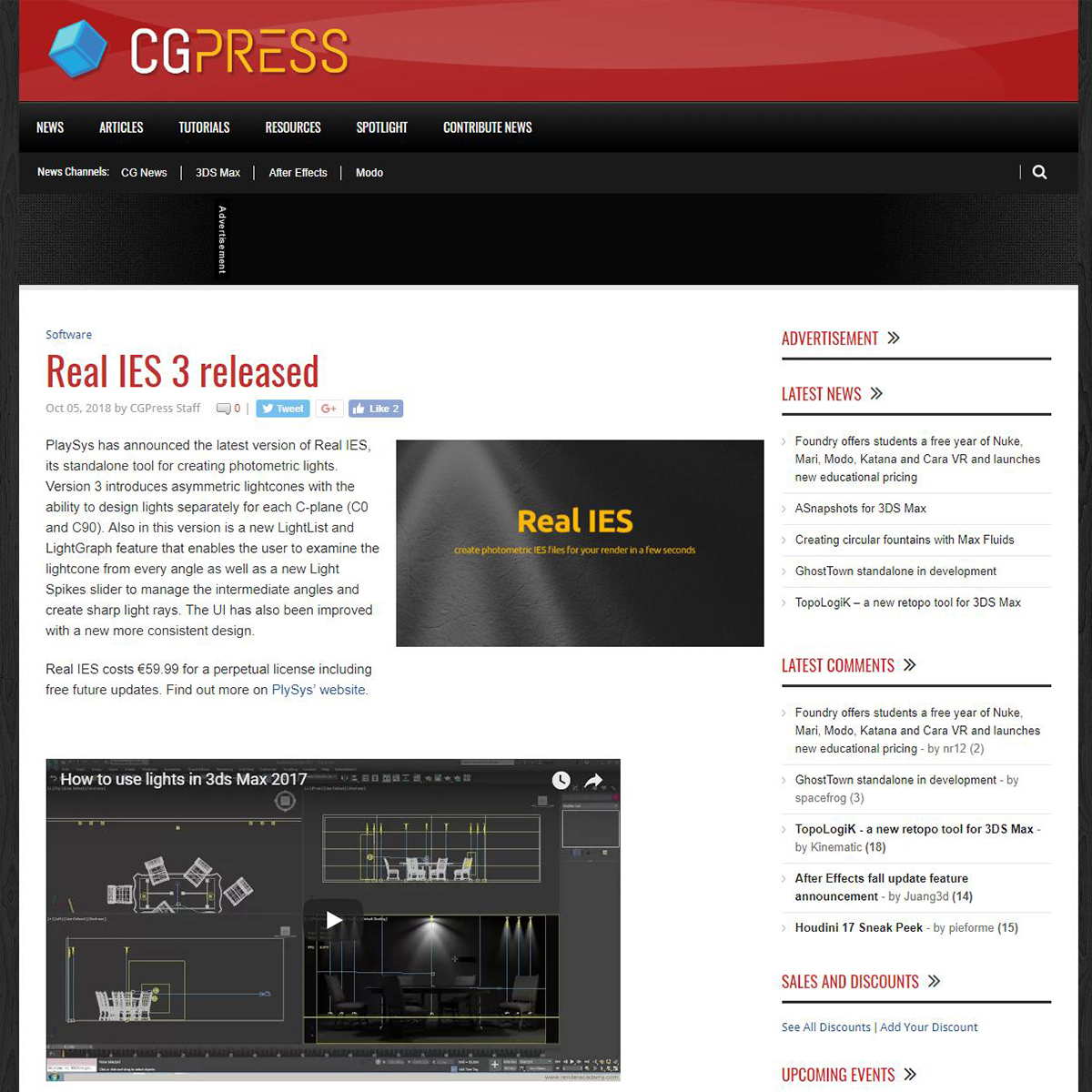 Real IES 3 - CG Press