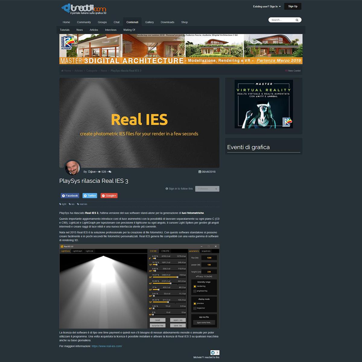 Real IES 3 - Treddi