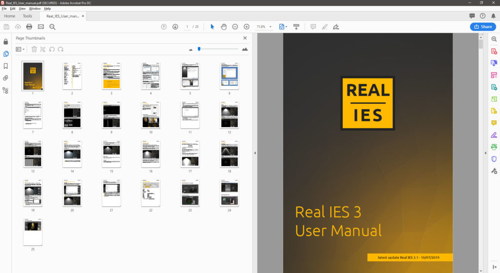 Real IES 3.1 User Manual