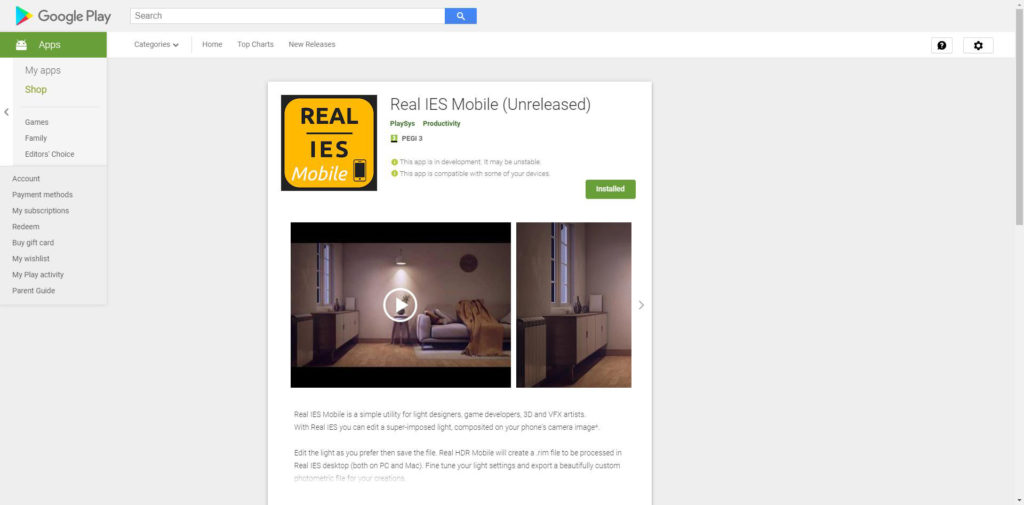 Real IES Mobile - Apps on Google Play